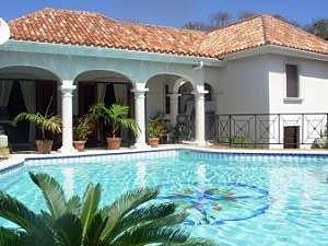 villa atrium 4br orient bay st martin. Black Bedroom Furniture Sets. Home Design Ideas