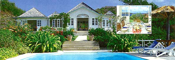 Les Jolies Eaux 6br Mustique St Vincent And The